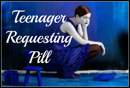 pillrequest from a teenager
